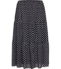 jucile knälång kjol svart baum und pferdgarten