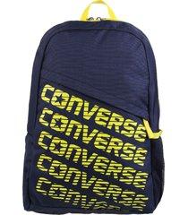 mochila azul converse speed bag