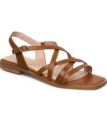 a-1401 shoes summer shoes flat sandals brun wonders