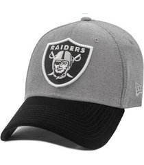 boné new era aba curva snapback oakland raiders core denim