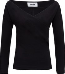 mauro grifoni sweater with back bow