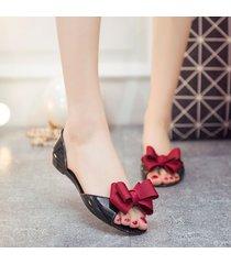resbalón de verano en las sandalias para las mujeres zapatos de la