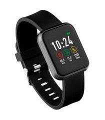 relógio smartwatch londres átrio es265 esportivo full touch preto