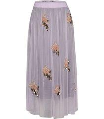 gabbi skirt lång kjol lila unmade copenhagen