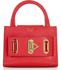 salar designer handbags, bella basic leather top handle bag