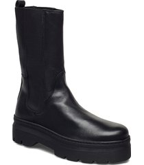 aya shoes boots ankle boots ankle boot - flat svart pavement