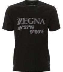 z zegna maxi logo t-shirt