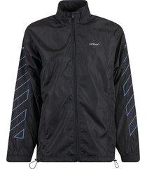off-white diag nylon jacket