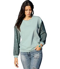 sweatshirt amy vermont turquoise