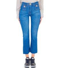 jeans mini flare pj95i11e2