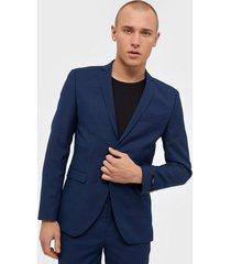 premium by jack & jones jprsolaris blazer noos kavajer & kostymer mörk blå