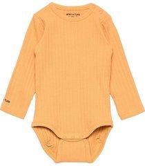 yomi body gots, b bodies long-sleeved orange mini a ture