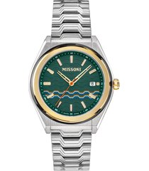 missoni m331 bracelet watch, 41mm in stainless steel at nordstrom