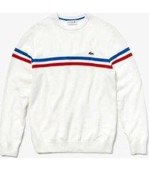 suéter lacoste classic fit masculino