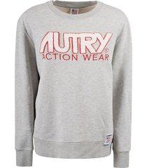 autry logo embroidered sweatshirt