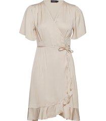 line dress jurk knielengte wit morris lady