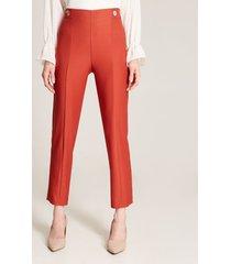 pantalón rojo naranja 16