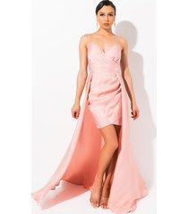 akira all u need high low maxi dress