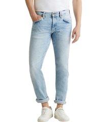 jeans elásticos con lavado denim esprit