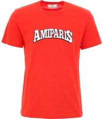 ami alexandre mattiussi printed t-shirt