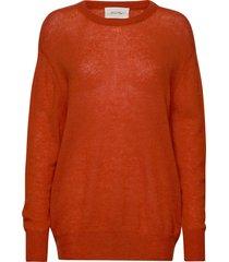 kool stickad tröja orange american vintage