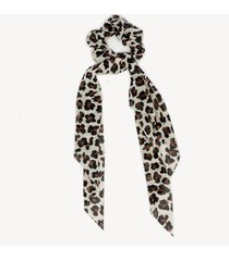 women's in color: leopard print scarf pony from sole society