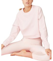 cotton on women's jacquard fleece sweater