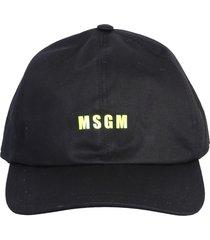 msgm logo baseball hat