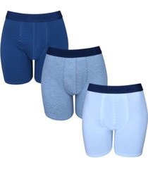isotoner signature men's 3 pack cotton stretch boxer brief