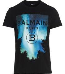 balmain balmain rubber t-shirt