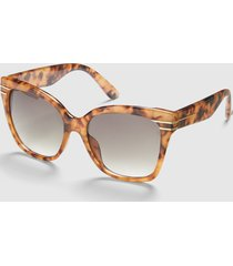 lane bryant women's animal print square sunglasses no chic leopard