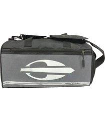 bolsa sacola de viagem em poliéster - mormaii cinza