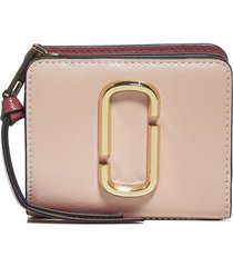 marc jacobs leather mini compact wallet
