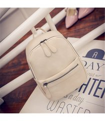 mochila de mujer/ mujeres mochila mochilas escolares-beige