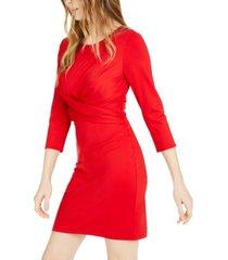 inc cross-front sheath dress, created for macy's