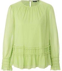 blouse met lange mouwen van joop! groen