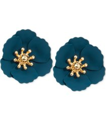 zenzii poppy stud earrings
