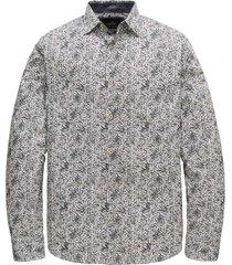 long sleeve shirt print on poplin
