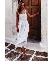 pink city prints elena broderie dress white