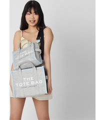marc jacobs women's the small summer tote bag - blue