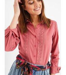ażurowa koszula