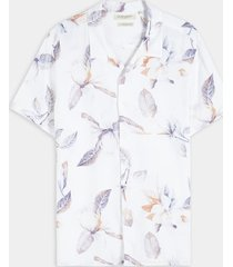 camisa blanco-multicolor seven seven