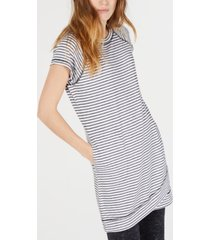 ideology striped crossover-hem tunic, created for macy's