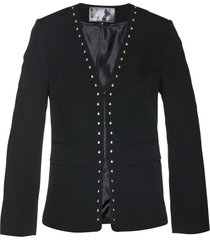 blazer con borchie (nero) - bpc selection