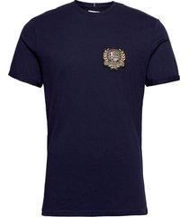 egalité t-shirt t-shirts short-sleeved blå les deux