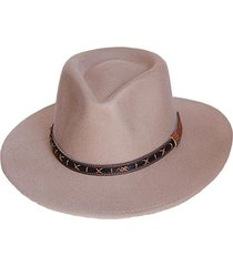 sombrero fieltro renegado beige viva felicia