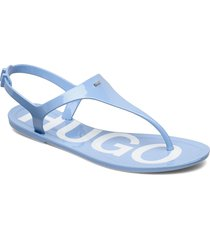 emma flat sandal shoes summer shoes flat sandals blå hugo