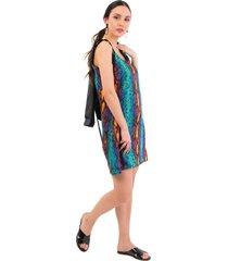 vestido multicolor mia loreto durian