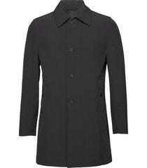 johnsson coat trenchcoat lange jas zwart oscar jacobson