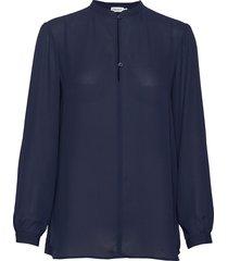 ada tunic blouse blus långärmad blå filippa k